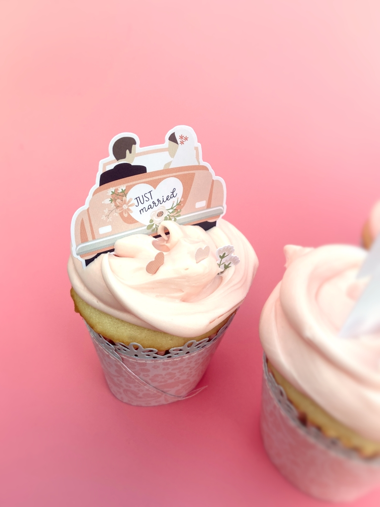 Echo Park Our Wedding Cupcakes - Lydia Cost