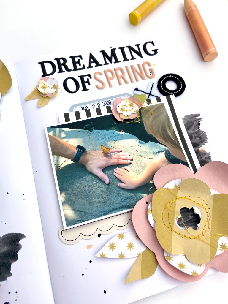 Dreaming of Spring A5 Spread │ FJ Millie │ Lydia Cost
