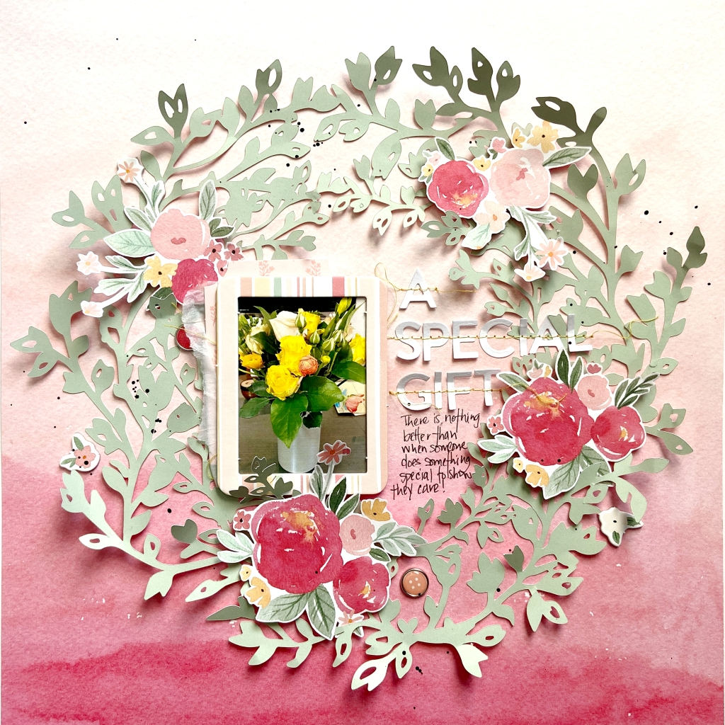 Echo Park Welcome Baby Girl - Lydia Cost - 12 x 12 Special Gift