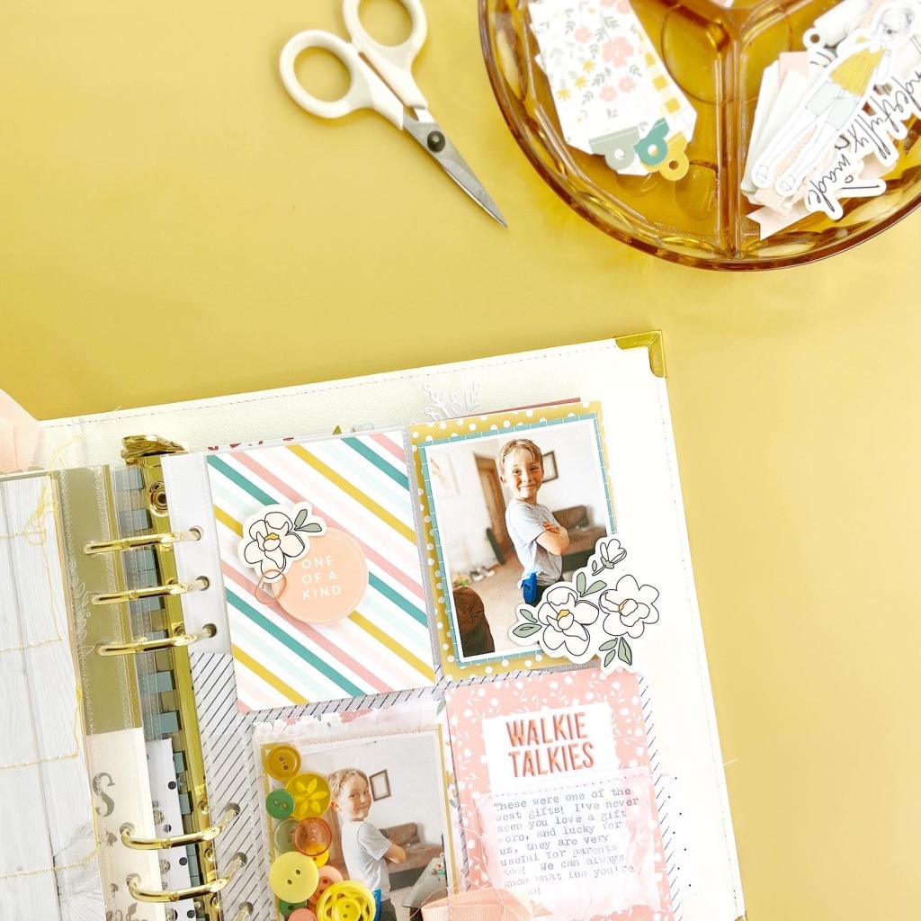 Felicity Jane Capri Collection │ 6x8 Pocket Page │ Lydia Cost
